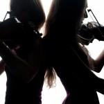 """Bond girl"" violinist shot!"