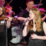 Poppy Alice with Paul Dunton Orchestra www.davidbartholomew.co.uk