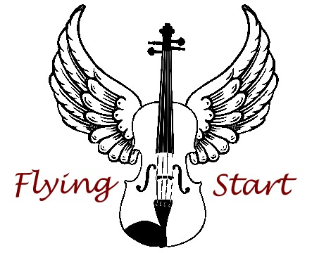 Flying Start Fiddles logo